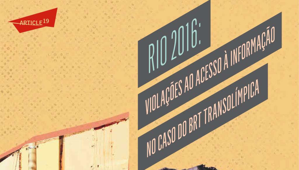Capa Rio 2016