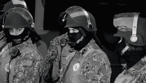 Foto Polícia Máscara