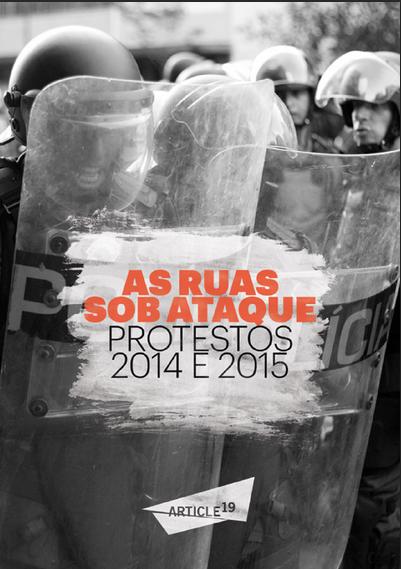 As ruas sob ataque: protestos 2014 e 2015