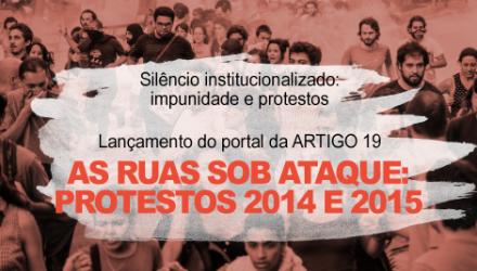 A impunidade nas violações em protestos